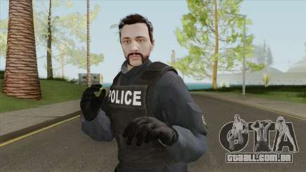 GTA Online Skin V5 (Law Enforcement) para GTA San Andreas
