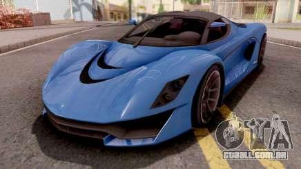Grotti Turismo R Texturas Arregladas para GTA San Andreas