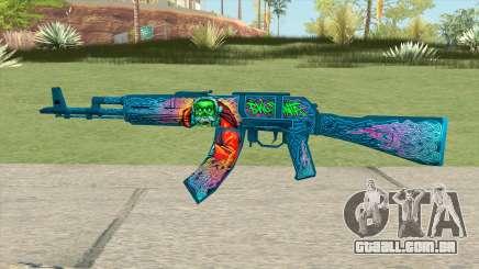 Warface AK-103 (Evil Santa) para GTA San Andreas