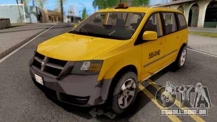 Dodge Grand Caravan Taxi para GTA San Andreas