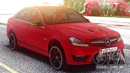 Mercedes-Benz AMG C63 Edition 507 v2.0 para GTA San Andreas