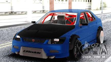 Toyota Alteza Racing para GTA San Andreas