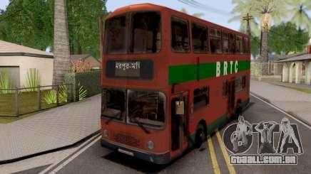 BRTC Double Decker Bus para GTA San Andreas