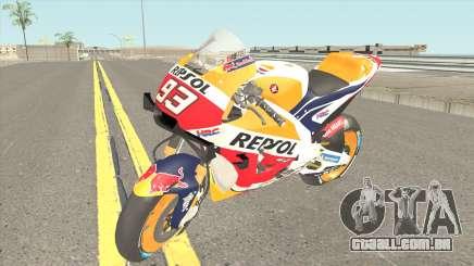 Honda RC213V 2019 Marc Marquez para GTA San Andreas