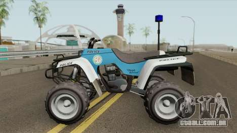 ATV Police GTA V para GTA San Andreas