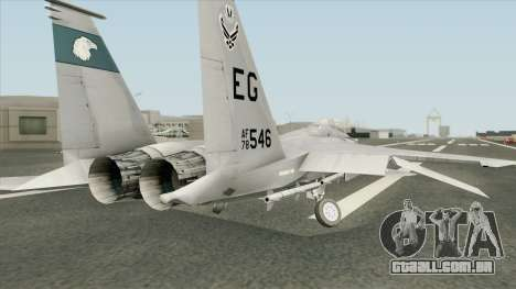 Emerald Coast F-15C para GTA San Andreas