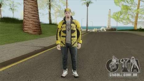 Skin V3 (GTA Online The Diamond Casino) para GTA San Andreas