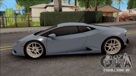 Lamborghini Huracan LP-700 v2 para GTA San Andreas