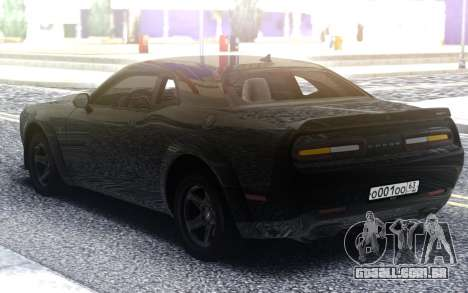 Dodge Challenger SRT Demon para GTA San Andreas