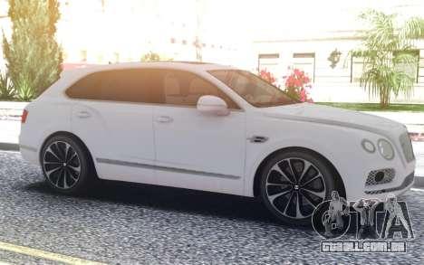 Bentley Bentayga W12 Touring para GTA San Andreas