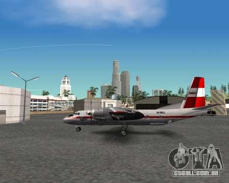 An-24 para GTA San Andreas