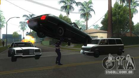 Spider Man Mod para GTA San Andreas