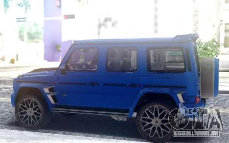 Mercedes-Benz G700 Widestar Brabus para GTA San Andreas
