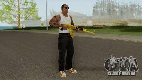 COD: MW1 AK-47 (Gold) para GTA San Andreas