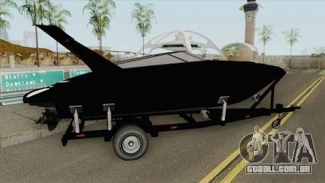 Boat Trailer GTA V para GTA San Andreas