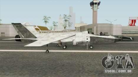 Mammoth Hydra V4 GTA V para GTA San Andreas