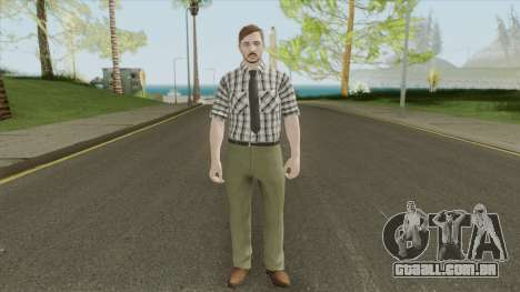 GTA Online Skin The Workaholic V1 para GTA San Andreas