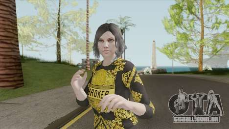 Female Skin (The Diamond Casino And Resort) para GTA San Andreas
