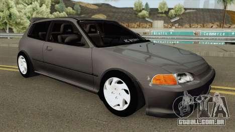 Honda Civic EG6 (AC WORKS) para GTA San Andreas