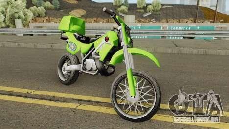 Yamaha Police (Patrullas Colombianas) para GTA San Andreas