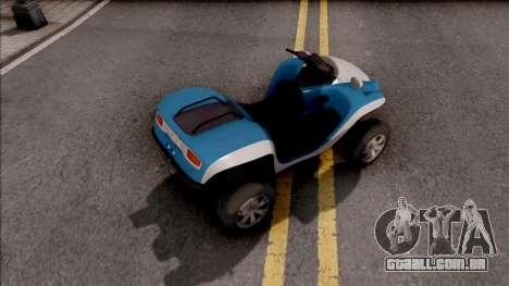 GTA V Nagasaki Blazer Aqua para GTA San Andreas