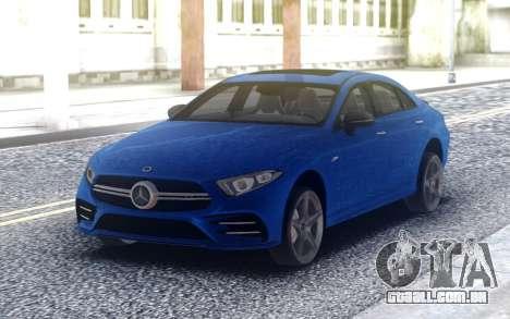 Mercedes-Benz CLS 53 AMG para GTA San Andreas