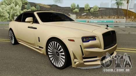 Rolls-Royce Dawn Onyx Concept 2016 para GTA San Andreas