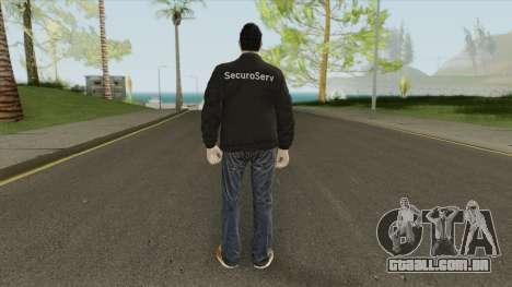 GTA Online Skin The Bodyguard V1 para GTA San Andreas