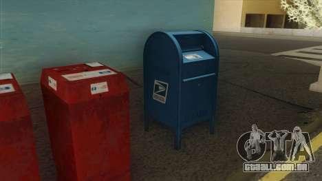 4K Postbox para GTA San Andreas