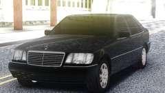 Mercedes-Benz S600 W140 Black para GTA San Andreas