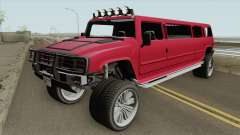 Mammoth Patriot Stretch V2 GTA V para GTA San Andreas