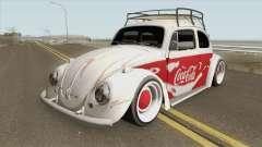 Volkswagen Fusca Coca-Cola Edition