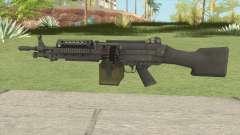 Battlefield 3 M249 para GTA San Andreas