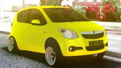 OPEL Agila Yellow para GTA San Andreas