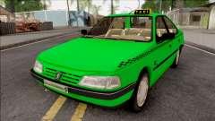 Peugeot 405 GLX Taxi v3 para GTA San Andreas