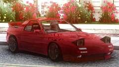 Mazda Savanna RX-7 FC3S Red para GTA San Andreas
