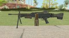 Battlefield 4 MG4 para GTA San Andreas