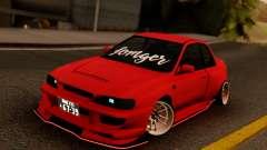 Subaru Impreza 22B Sport Red para GTA San Andreas