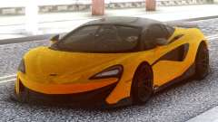McLaren 600LT 2018 Yellow para GTA San Andreas