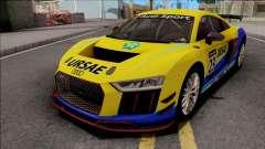 Audi R8 LMS GT4 2019 para GTA San Andreas