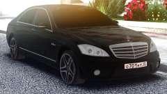 Mercedes-Benz W221 S63 AMG para GTA San Andreas