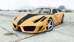 Ferrari 458 Spider Mansory Monaco Edition 2012 para GTA 5