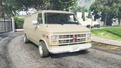 Chevrolet G20 Van grain brown para GTA 5