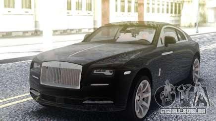 Rolls-Royce Wraith Black para GTA San Andreas