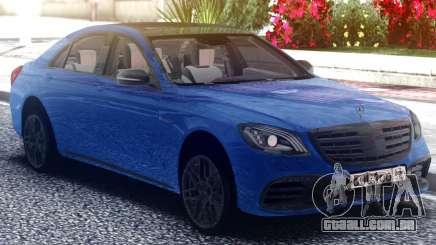 Mercedes-Benz S63 AMG W222 Classic para GTA San Andreas
