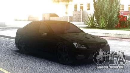 Mercedes-Benz C63 AMG AllBlack para GTA San Andreas
