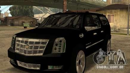 Cadillac Escalade ESV Black para GTA San Andreas