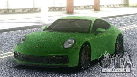 Porsche 911 992 para GTA San Andreas