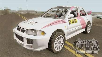 Mitsubishi Lancer Evolution III GSR WRC 95 Rall para GTA San Andreas