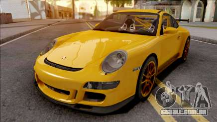 Porsche 911 GT3 RS Yellow para GTA San Andreas